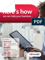 Npower Winter 2011 SME Booklet - Npower Business
