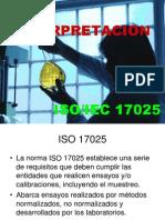 Interpretacion 17025