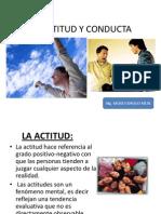 ACTITUD Y CONDUCTA