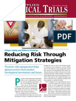ACT Reducing Risk August 09