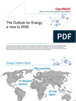 The Outlook for Energy a view to 2030