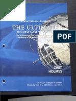 Chet Holmes - UBMS Workbook
