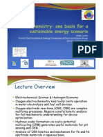Electrochemistry Basis for Sustainable Energy Scenario SFI Summit 2011