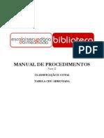 Manual Procedimentos2CDU