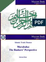 Murabaha Bankers Perspective