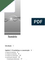 Gestao Estrategica da Comunicacao Mercadologica (sumário e capítulo parcial do livro)