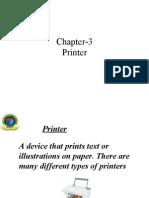 Chapter Printer)