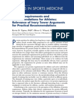 06-Protein Requirements and Recommendations for Athletes