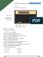 Exercicios HP12C