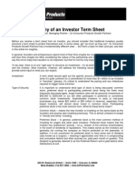 2x Consumer Products Growth Partners - Anatomy of an Investor Term Sheet 10
