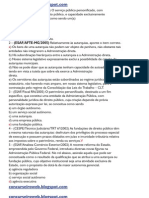 Entidades da administração indireta CESPE-ESAF