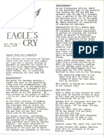 Eagle's Cry, Vol. VII, No. 1, March 1970