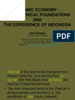 Islamic Economy -Philosophical Foundations and the Experience of Indonesia