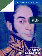 Bolívar - Carta de Jamaica
