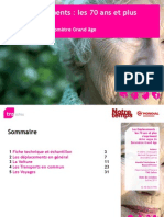 Mobilité et déplacements des seniors