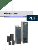 MM430 Parameter List