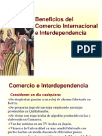 Beneficios Del Comercio Internacional e Inter Depend en CIA