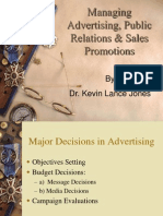 12. Managing Advertising, PR & Sales Promotions