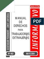 Manual de D Para Extranjeros