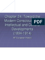 chapter 24 - modern consciousness intellectual and cultural developments