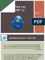 LATISM Twitter 101 Presentation