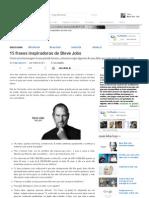 15 Frases as de Steve Jobs