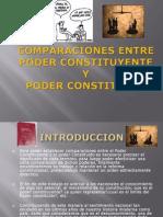 Comparaciones Entre Poder Constituyente