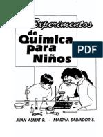 Experimentos De Quimica Para Niños