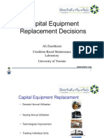 Capital Equipment Replacement Decisions