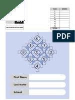 KS2 - 2000 - Mathematics - Test A