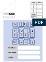 KS2 - 2000 - Mathematics - Test B - Part 1