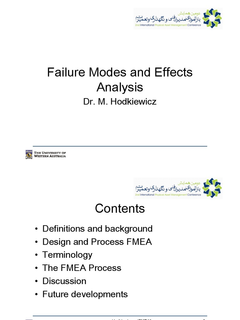 potential failure mode and effects analysis reference manual