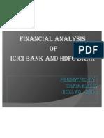 Presanton on Icici and Hdfc