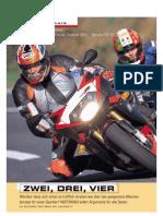 Vergleichstest Supersportler 2001