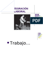5.1 INTEGRACIÓN LABORAL