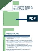 Estudio Presupuestos Municipios Del Bierzo