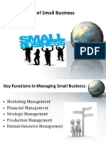 Management of Small Business