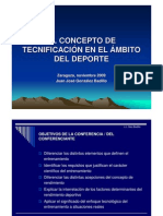 Concepto Tecnifi Ambito Deportivo Gonzalez Badillo Presentacion