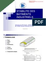 Stabilité des Batiments Industriels
