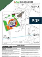 Redskins Stadium Parking Map