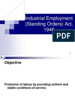11 Industrial Employment Standing Orders Act 1946 (1)
