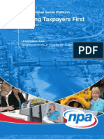 NPA platform 2011