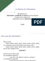 Information Theories