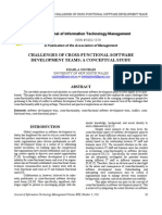 Challenges of Cross-functional Software- Article2