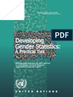 Developing Gender Statistics