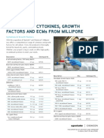 Cytokines Growth Factors, And ECMs
