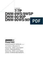 Betacam Sx DNW-7P Maintenance Manual