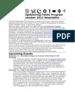 11-11 Mid-November SNFP Newsletter