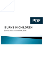Burns in Children