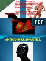 Anticonvulsivantes,Relajantes Musculares,Antiparkinsonianos